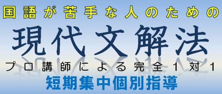 国語|現代文解法特別個別指導|広島の個別指導の塾フェイス【大学受験】